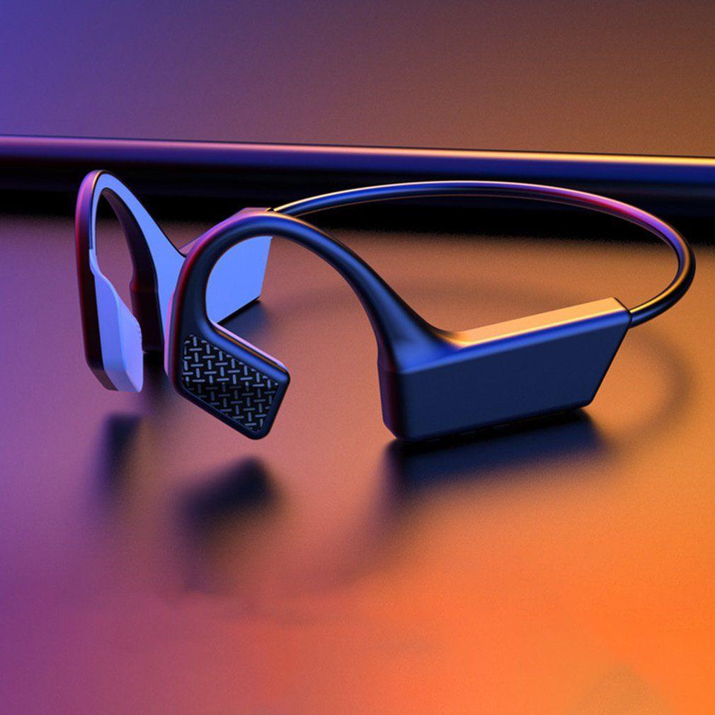 K08 Bluetooth 5.0 K08 inalámbrica auriculares de conducción ósea para auriculares al aire libre Auricular con micrófono Auriculares Deporte