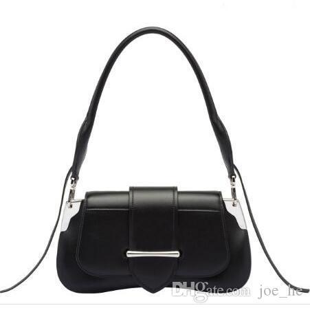 Designer-Luxus Retro Designer Leder Highbeutel Handtasche Taschen Qualität Schulter Sattel Klassische Handtasche Tasche Designer Echtes PNQJU
