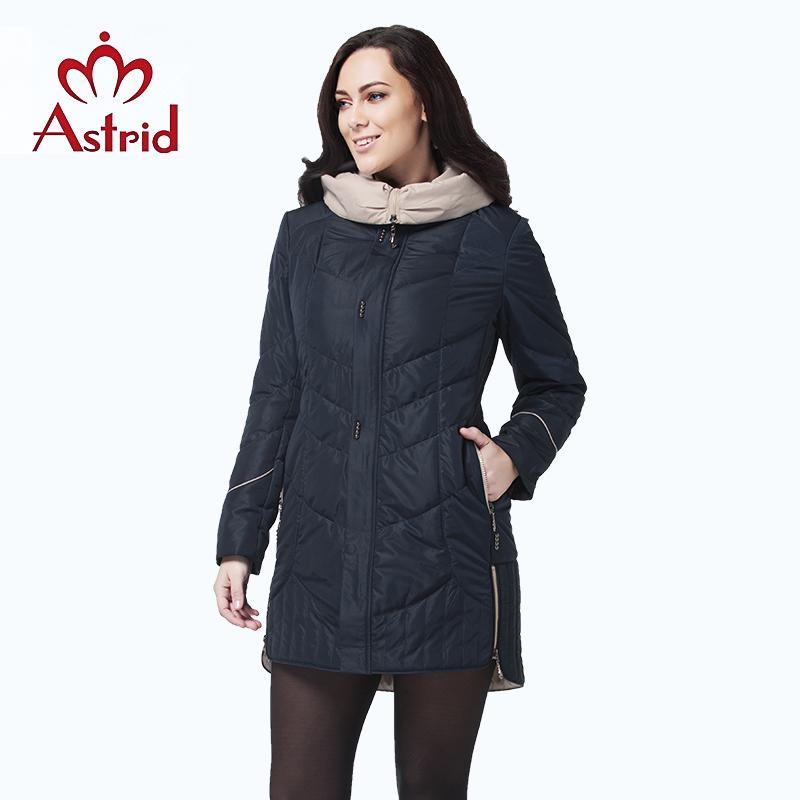 Astrid Jacket Winter Women Coat Casual Female Parkas Female Hooded Coats Solid Ukraine Plus Size Fashion Style Best Am-5810 Y190828