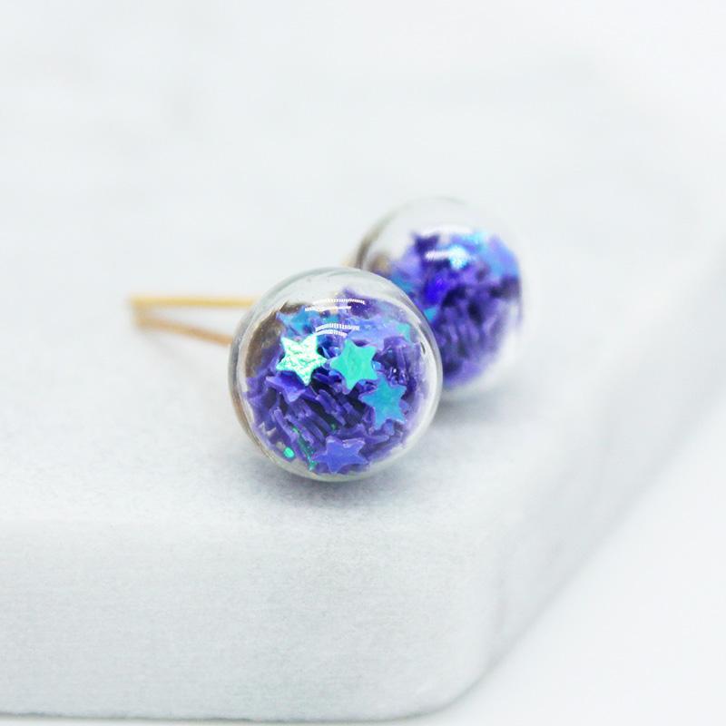 Nova marca de jóias de design de moda de Natal brincos para mulheres linda estrela brincos de presente artesanal declaração contas de vidro