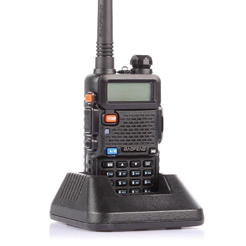 2 PCS Baofeng UV-5R 2 Way Ham Radio Рации УКВ Dual Band 128 каналов