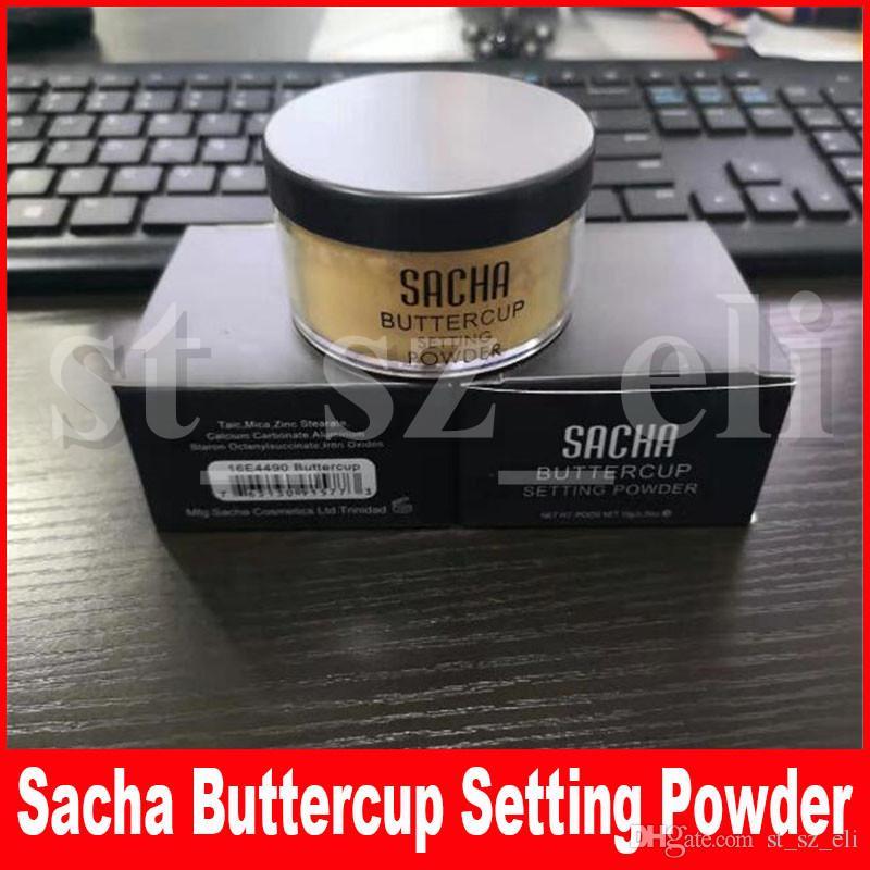 Sacha Buttercup setting powder SACHA makeup Face Powder loose powder