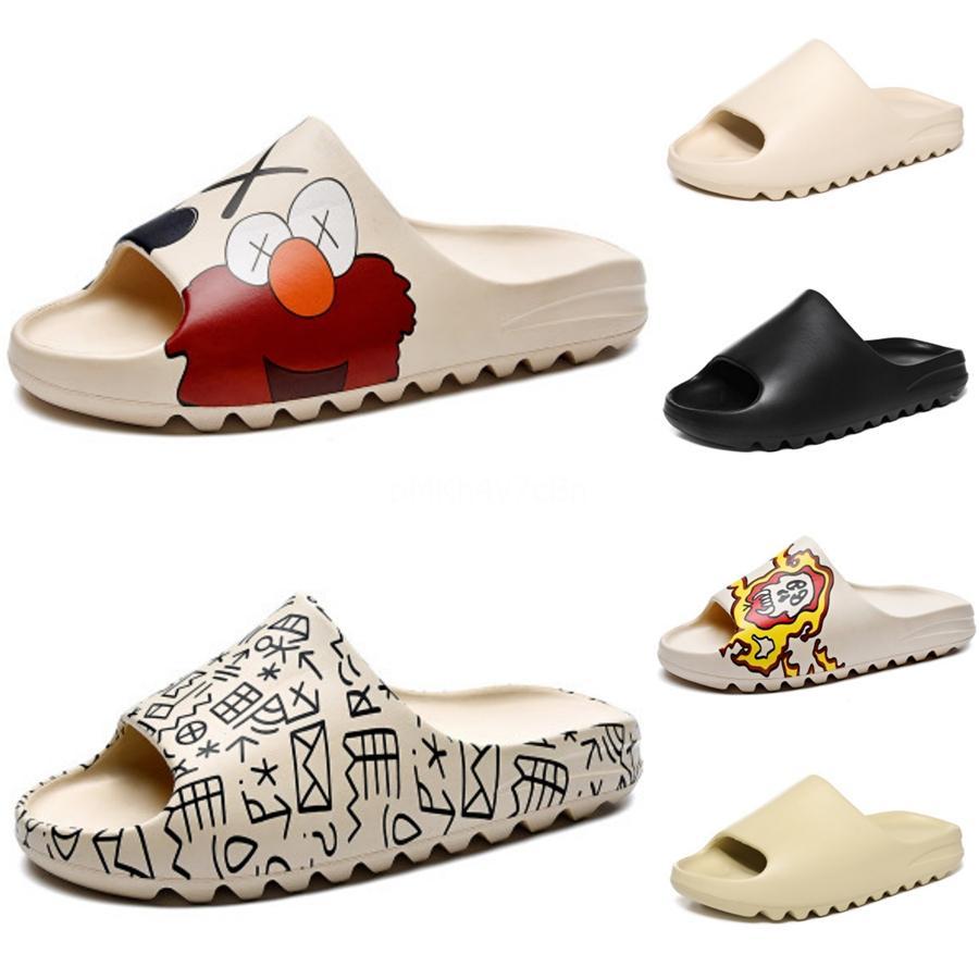 Cootelili Frauen Männer Sommer-Sandelholz-Plattform Mode Schuhe 2020 neue Art und Weise Buckle Diamant-Dekoration Schwarz Basic Sandalen 5Cm Heel # 549