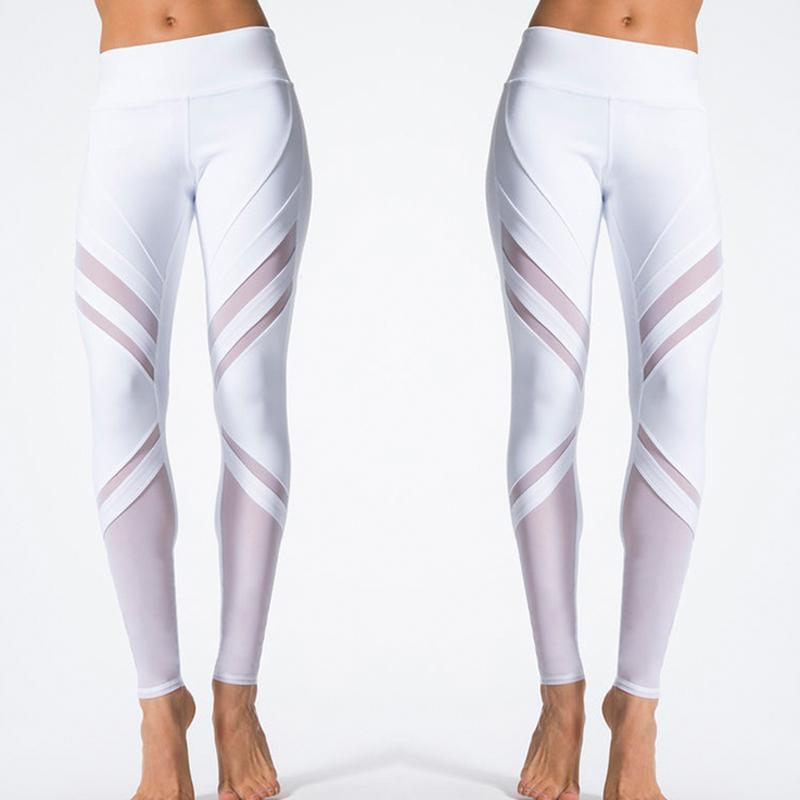 000e4051bab782 2019 Hirigin 2017 New High Waist Striped Leggings Women Sexy Hip ...