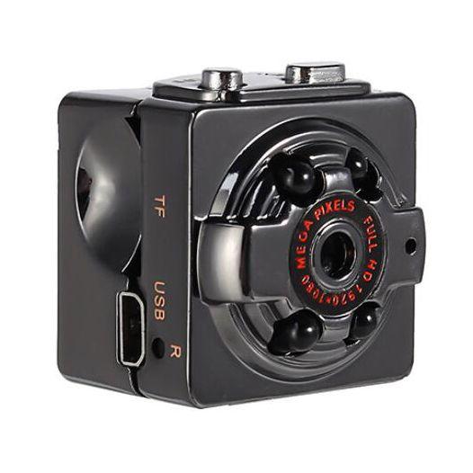20PCS 2020 Hot 1080P 960P Mini HD Digital Camera Infrared Night Vision Outdoor Aerial Camera DV Video Car Driving Record SQ8