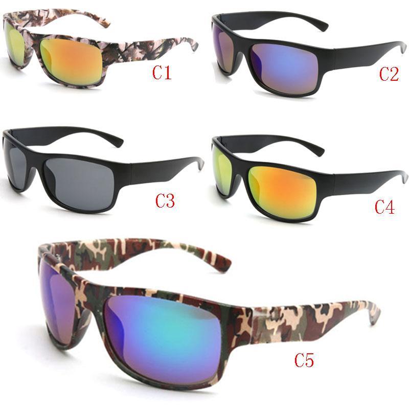 العلامة التجارية التكلفة النظارات الشمسية مصمم للرجال والنساء في الهواء الطلق كامو نظارات نظارات مصمم الصيد واقيات شمسية ركوب النظارات 5 ألوان