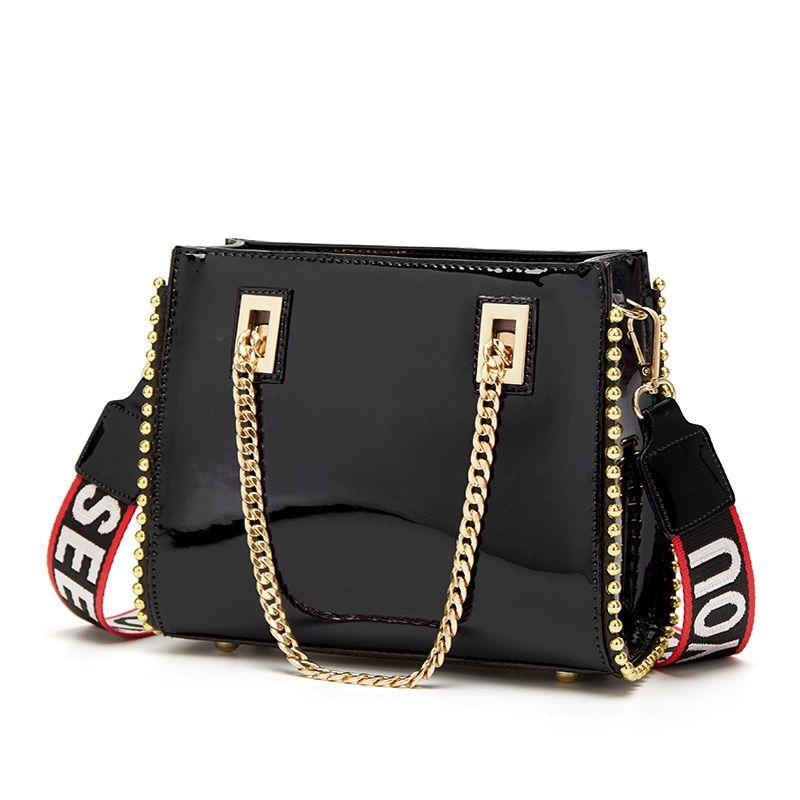 Diseñador 5 bolsos de lujo bolsas de diseñador bolsos bolsos de bolsos de lujo de lujo nuevos colores de la PU Moda Bolsa de Crossbody LNXJP
