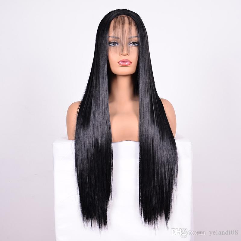 أعلى جودة مستقيم رجل شعر مستعار الشعر البرازيلي مستقيم الشعر الدانتيل الجبهة الباروكة دون الغراء الجبهة الرباط الباروكة تبييض عقدة