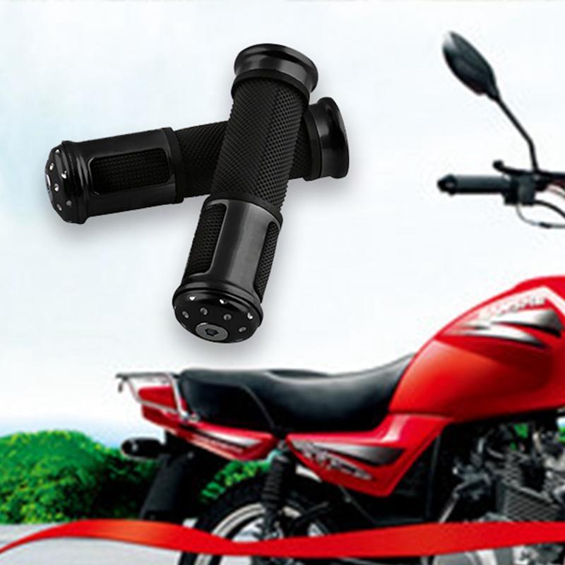 New Universal Refit Hand Grips Throttle CNC Motorcycle Handlebar Aluminum Alloy