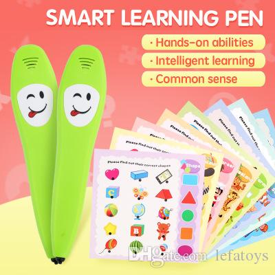 Early childhood education enlightenment puzzle card common sense cognitive intelligent logic learning pen Y-PEN English