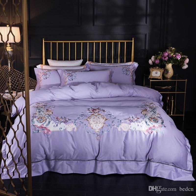 conjuntos de cama king size conjuntos de cama de designer de luxo conjuntos Literie de luxe parure de lit king size conjuntos de cama luxuosa roupa de cama berço