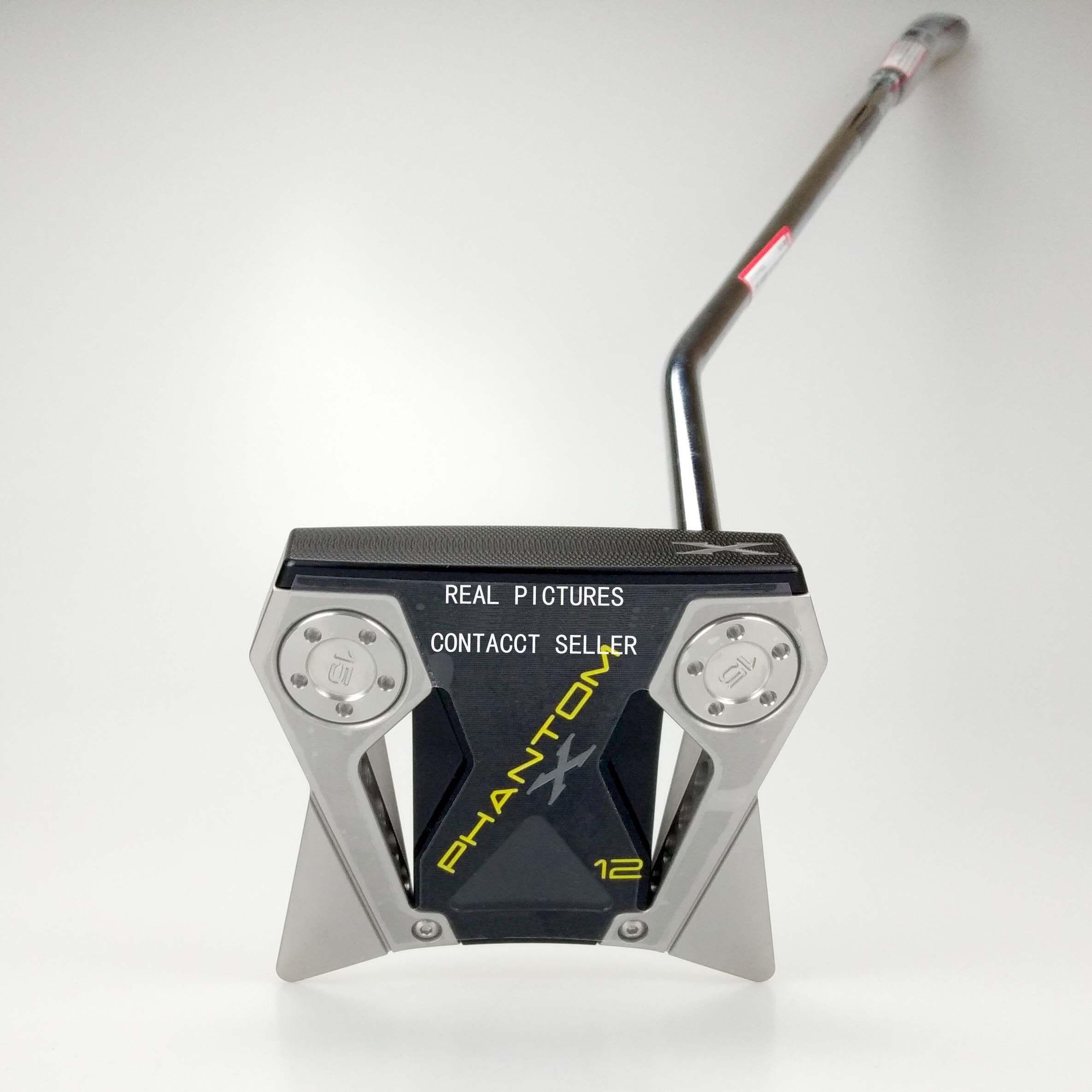 Promoción Nueva palos de golf Phantom X12 golf Putter + HEADCOVER 33 34 35 pulgadas Disponible real fotos de contacto del vendedor