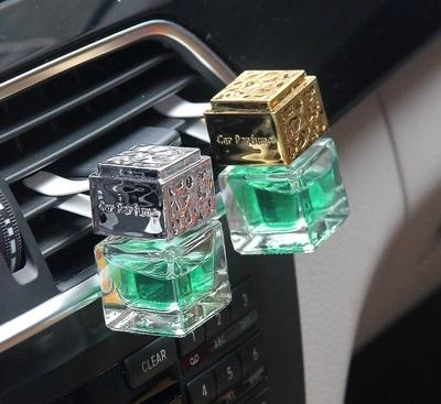 6ML Car Perfume Air Conditioning Outlet Perfume Folder Car Bottle 5PCS/LOT