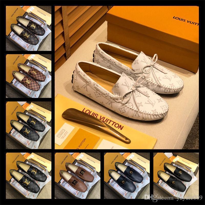 A4 128 نماذج الجملة الأحذية الجلدية جوردان جلد البقر الأحذية horsebit امرأة التطريز النجوم المتسكعون سوليد مسطحة laday القاتلة