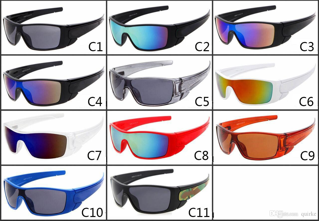 11 Bike Brand 2020 Riding Designer Спорт Солнцезащитные очки Мужчины Цвета Открытый и Линзы Соединитые Летние Женщины IGMVV