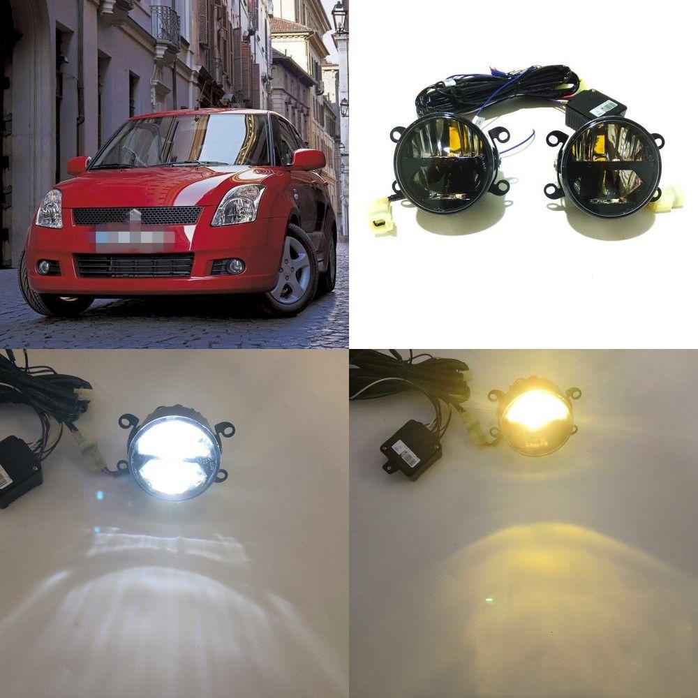 DRIVING LAMPS 6000k HIGH POWER FULL LED FOG LIGHTS SUZUKI SWIFT 2005-2017