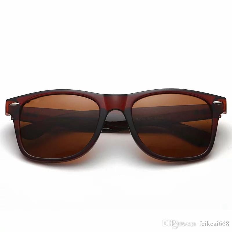 Yüksek kalite Marka Vintage Retro Güneş pilot Güneş gözlükleri UV400 Moda Erkek Kadın Sürüş Spor gözlük Kutusu Kasa ray ile