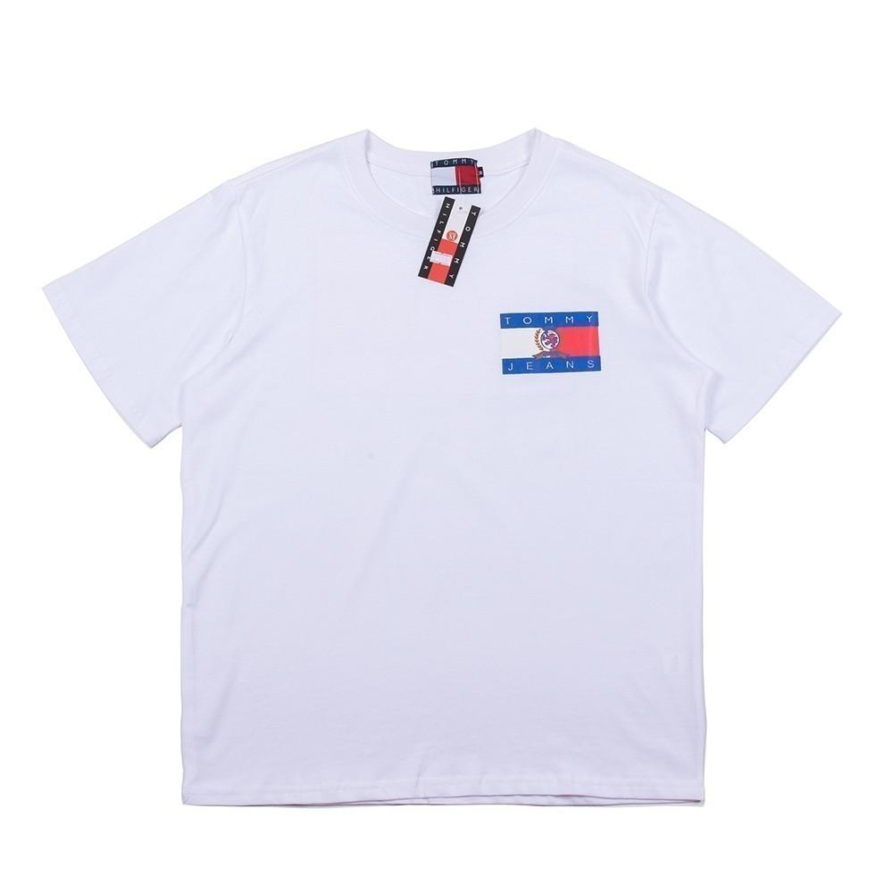 2019 Yaz Adam ve kadın Baskı T T-shirt Kısa Kollu 194906