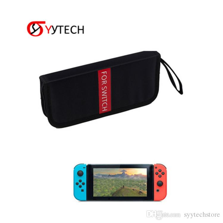 SYYTECH New Portable Soft Storage Case Bag Console Travel Carrying Protection Game Console Protective Case Shell For Nintendo Switch