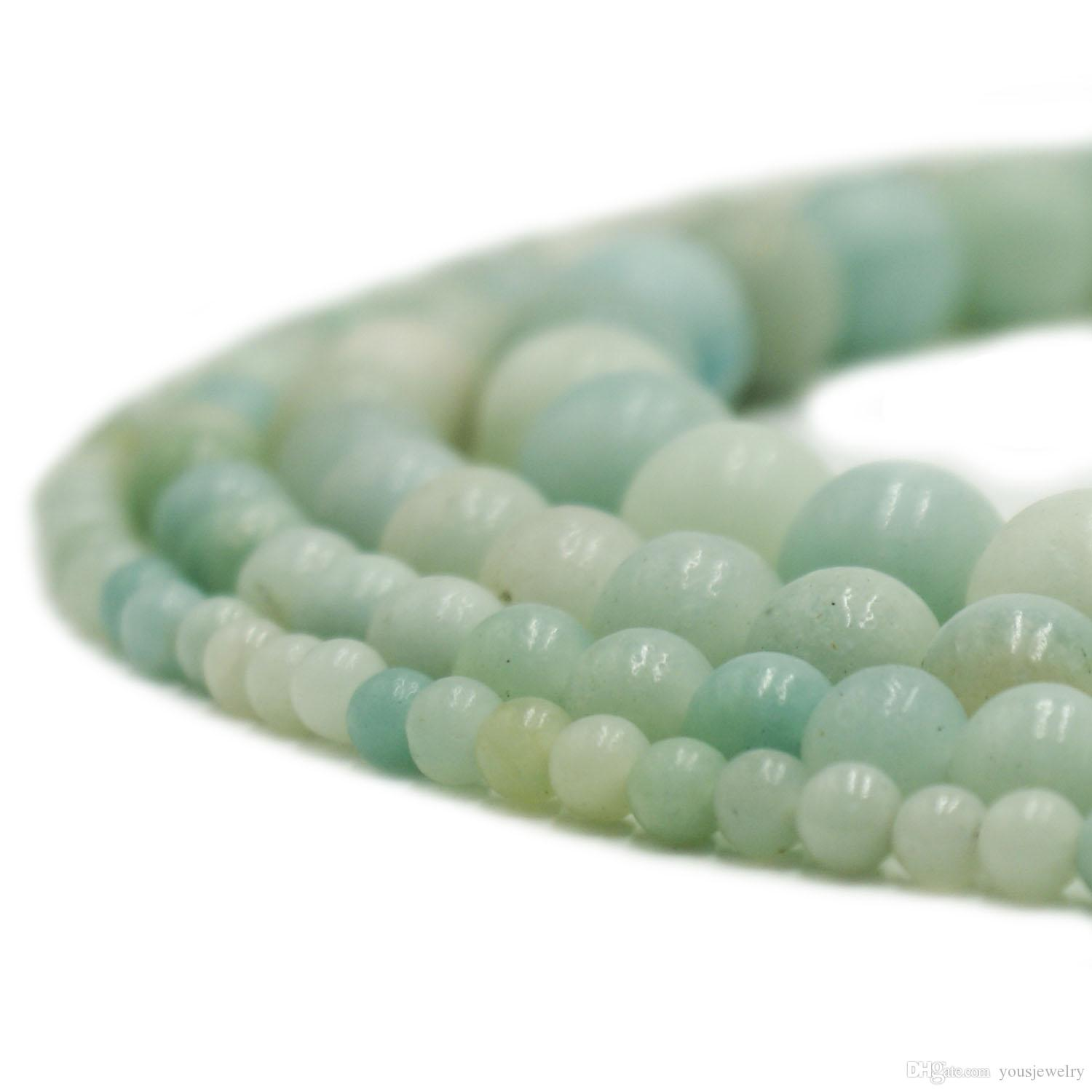 1 Strand Rondelle Turquoise Natural Stone Gemstone Loose Spacer Beads DIY Craft