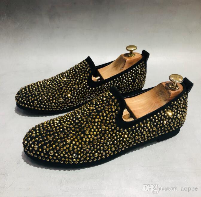 2019 весна осень мужчины обувь студентов повседневная обувь дизайнер мужской оксфорд обувь мужские квартиры размер США: 6,5-9 #