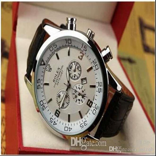 AAA luxury brand men's watch fashion casual men's water ghost watch high quality leather sports high-end watch men's clock Orologio da uomo