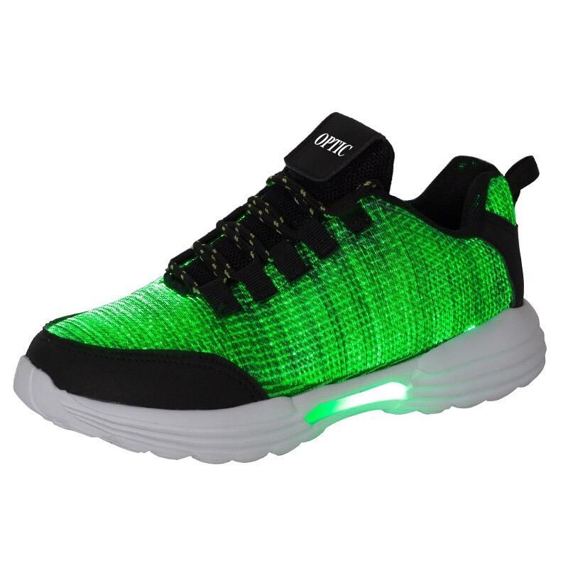 LED formatori Notte Running Shoes variopinto di modo luminoso Sneakers Uomo Donna Led pattino Trasporto di vendita superiore di goccia