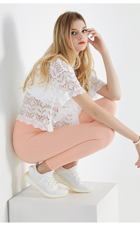 Lu-3 en iyi sıcak yoga pantolon kız tozluk Elma Hızlı Kurutma Nü Sıkı Spor Pant için yoga kıyafetleri Sıkı Kalça Vücut Pantolon elbise womens
