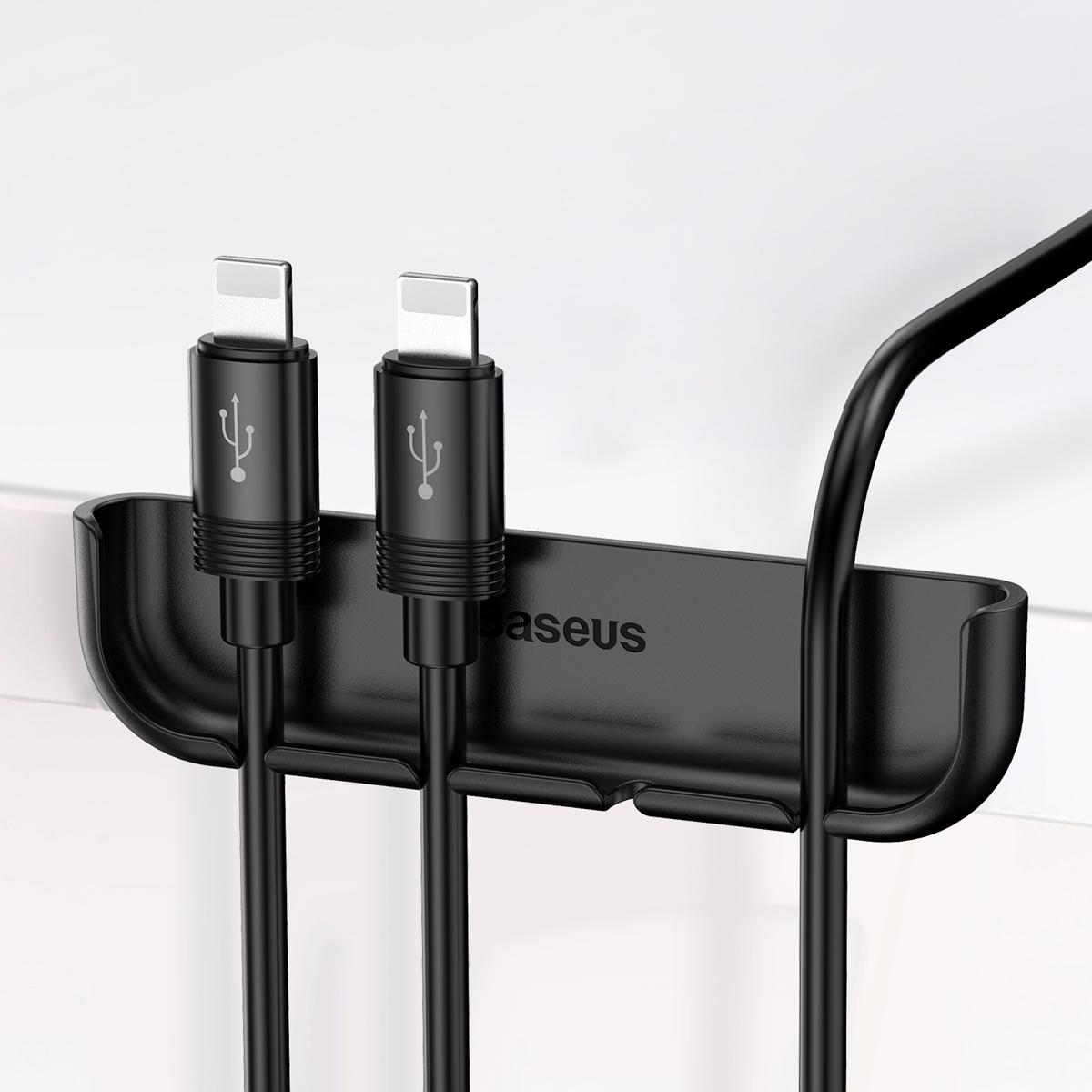 Fijación de cables Baseus y accesorios de pasta de película de vidrio templado para iphone Xr Xs Max tool Instalación fácil y rápida