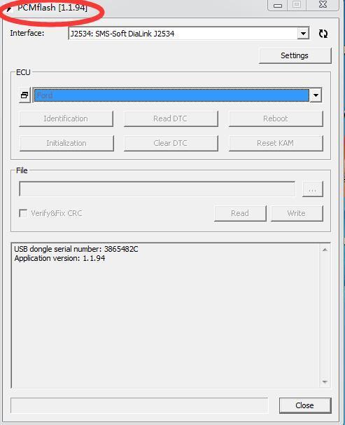 PCMFlash V1 1 94 KTMOBD ECU Upgrade Tool DiaLink J2534 Transfer Stable Real  Reading KTM OBD 1 1 94 USB Dongle Supports Protocols Auto Scanner Tools