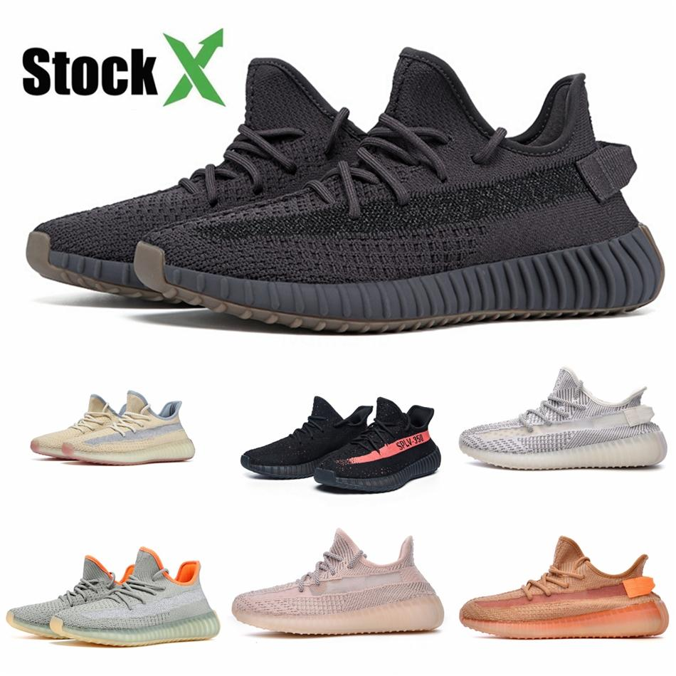 Kanye West para hombre nuevo estilo azul del trullo imán de los zapatos corrientes Tefra Vanta analógico Utilidad Negro Hombres Mujeres corredor de la onda de malva Deportes zapatillas de deporte # QA866