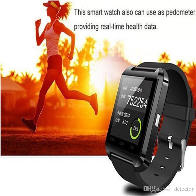 Smart Watch U8 Bluetooth Altimeter Anti-lost 1.5 inch Wrist Watch U Watch For Smartphones iPhone Android Samsung HTC Sony