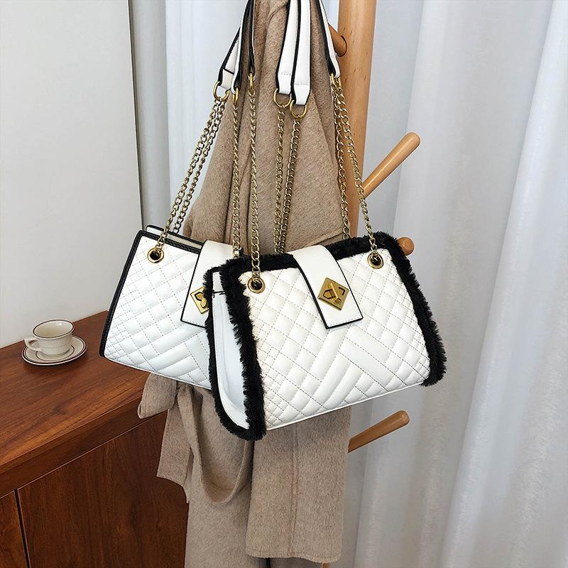 Мода новые стеганые цепи 2020 женские сумки на плечо XODTT сумки сумки сумки женские женщины корейский для Messenger WRQXT