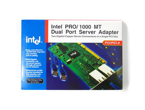 INTEL PWLA8492MT 1000MT Gigabit Dual Port Server Adapter PCI//PCI-X Network Card