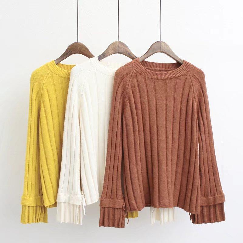 Winter Women Sweaters Casual Long-sleeved Tops Knitted Jumpers Cashmere Cotton Elasticity Pullovers 2019 High Quality