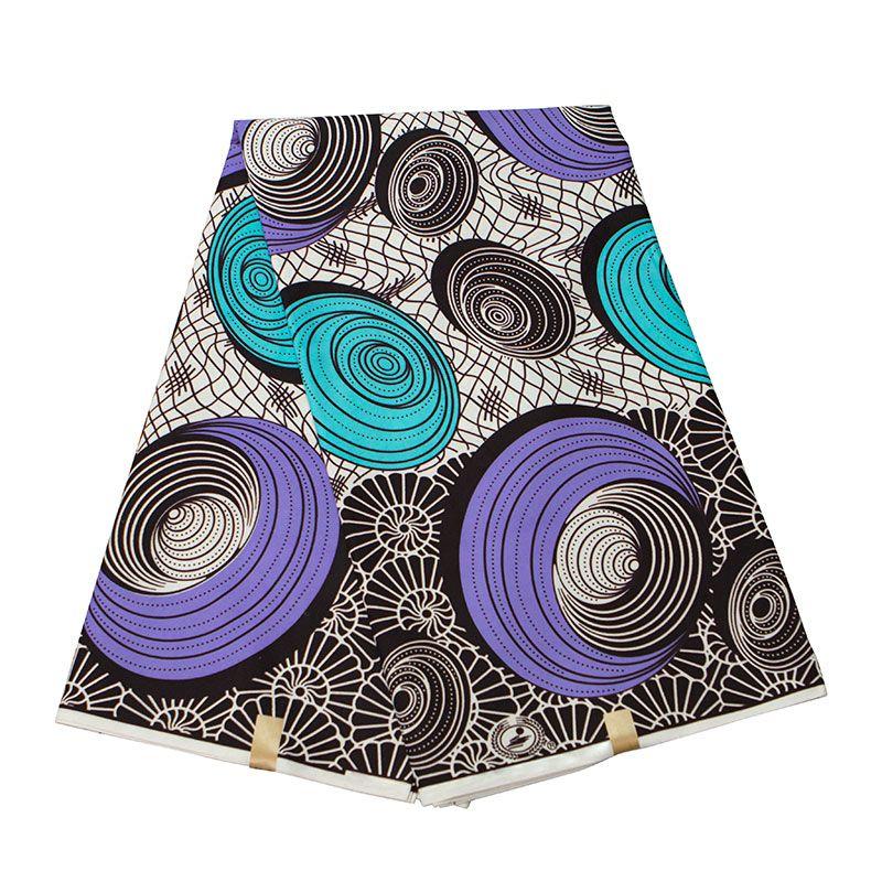 Африка Анкара полиэстер восковые принты ткань BintaReaWax высокое качество 6 ярдов / лот 2020 Африканская ткань для вечернего платья FP6323