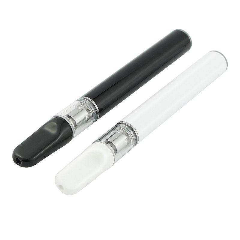 2019 penna di vape olio monouso di alta qualità con bocchino in ceramica .3ml. 5ml penna di vape cartuccia di vetro monouso vaporizzatore vaporizer
