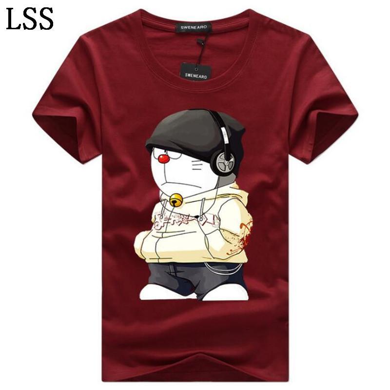 Men's T-Shirts Plus Size 5XL Tee Shirt Men Summer Short Sleeve Print funny T-Shirt Male TShirts Camiseta Tshirt Homme HC-9