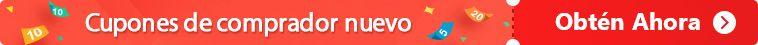 Cupón para nuevo comprador y código promocional