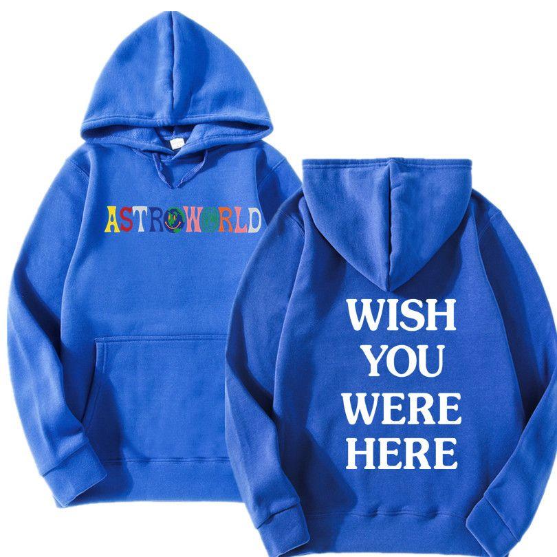 Acheter NOUVEAU Les Hoodies Travis Scott Astroworld Sweat Shirt Homme Lettre Mode Impression À Capuche Et Femme Pull De $21.43 Du Manxinxin  