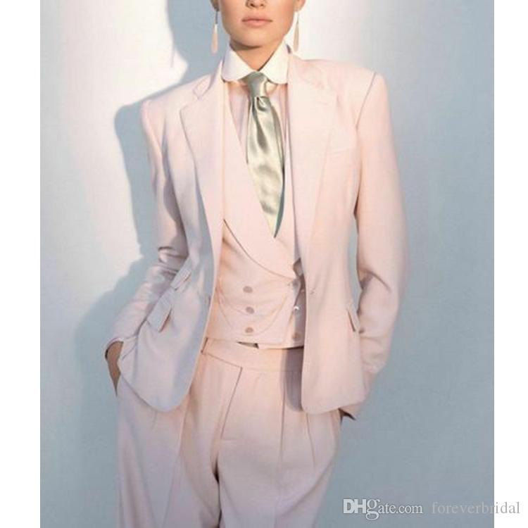 3 pezzi formale madre della sposa abiti da donna rosa donne signore made personalizzato ufficio business smokings sera da sera da compagnia da lavoro indossare nuovi abiti