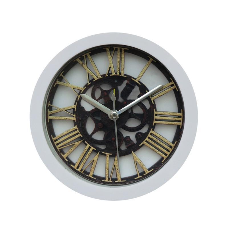 Silencieux balayage moderne Graceful Cloche bureau Creative Horloge numérique d'alarme