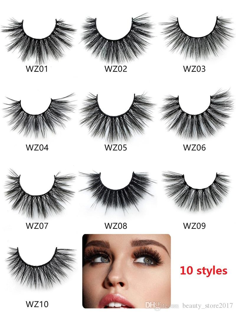 5 pairs Crisscross Woven Mesh False Eyelashes Thick Natural Long Full Strip 3d Lashes Fake Eyelashes