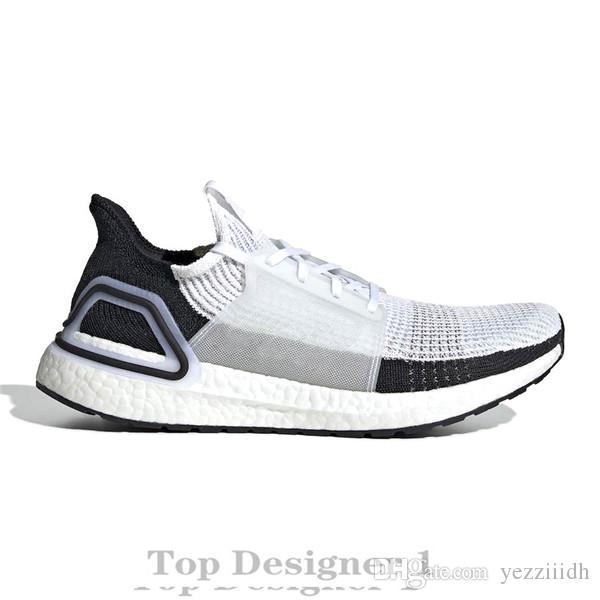 2019 di alta qualità Ultraboos 19 3.0 4.0 pattini correnti degli uomini Donne Ultra Boos 5.0 viene eseguito Bianco Nero Atletico Designer scarpe da tennis Taglia 36-47 E1B4
