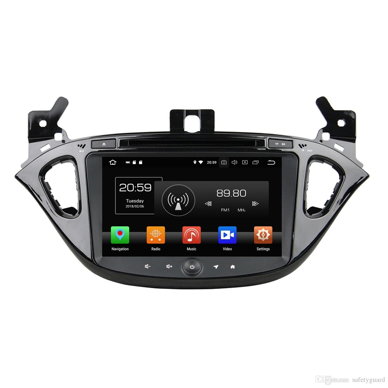 """IPS 4GB RAM Octa Core 2 din 8"""" Android 8.0 Car DVD Radio Player for Opel Corsa 2015 2016 GPS 4G WIFI Bluetooth USB Mirror-link"""