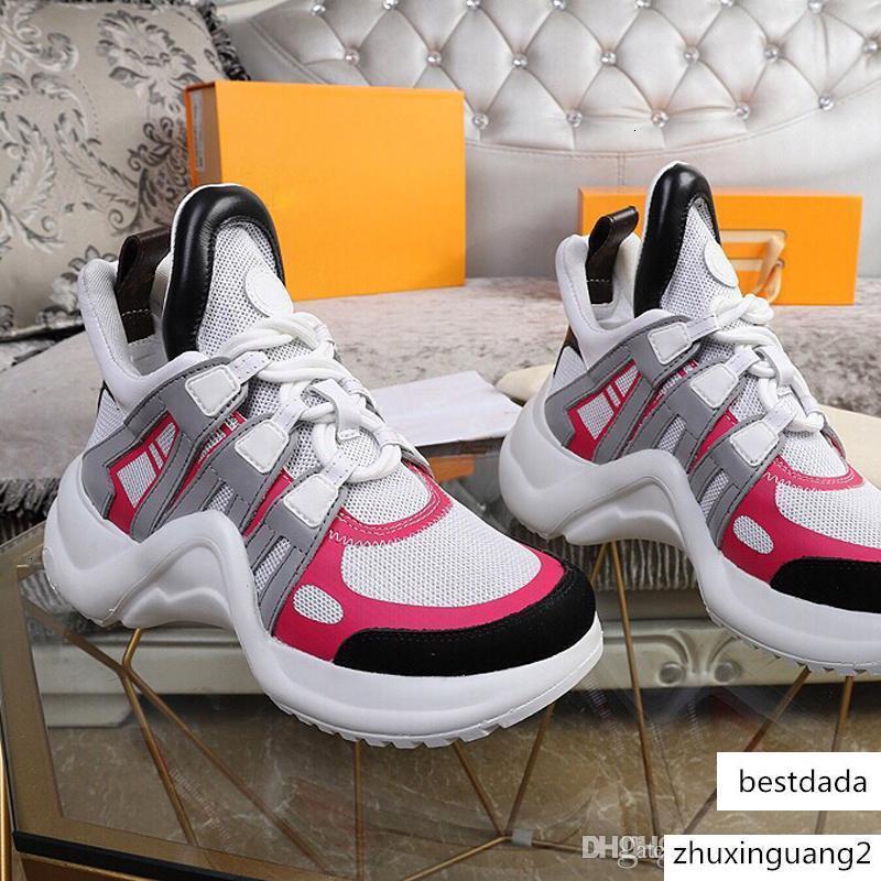 Novas senhoras Luxo calçados casuais Triple S sneakers tênis de basquete pai malha Velho para mulheres dos homens tênis multi tamanho US11 grande