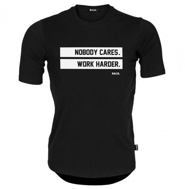 Uomini balr maglietta rotonda posteriore lunga Tee Shirt Homme cotone delle parti superiori marchio di abbigliamento fitness maglietta Euro Size balred maglietta