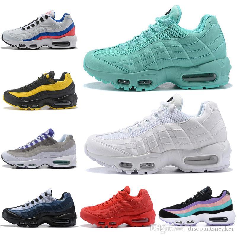 Wholesale Black White Running Shoes Men