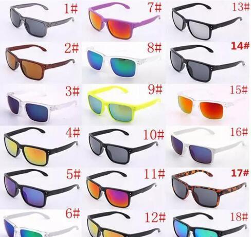 العلامة التجارية مصمم النظارات الشمسية uv400 حماية 9102 الرياضة نظارات الرجال النساء للجنسين الصيف الظل نظارات في الهواء الطلق ركوب الدراجات الشمس الزجاج 18 الألوان