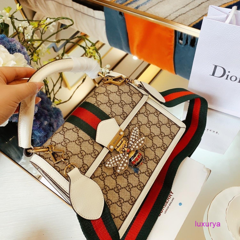 2020 женская мода Рука сумка плеча Посланник Посланник Сумочка маленькая пчела элемент 121561